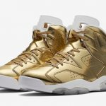 "海外10月22日発売予定 Air Jordan 6 PREMIUM ""Metallic Gold"""