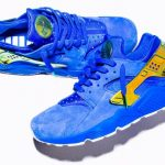 海外7月16日 NIKE AIR HURACHE RUN LA BLUE SUEDE