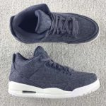 "12月17日発売予定 NIKE AIR JORDAN 3 WOOL ""DARK GREY"""