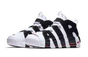 "6月29日発売予定 NIKE AIR MORE UPTEMPO ""WHITE BLACK"""