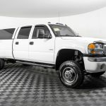 Used Lifted 2006 Gmc Sierra 3500 Slt Dually 4x4 Diesel Truck For Sale Northwest Motorsport