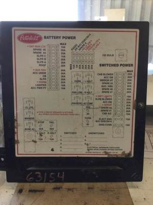 2005 Peterbilt 379 Fuse Box For Sale | Jackson, MN | 63154