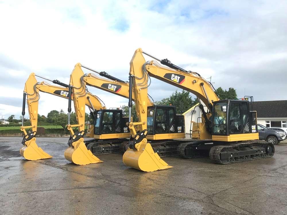 2017 Caterpillar 325FL CR Excavator For Sale
