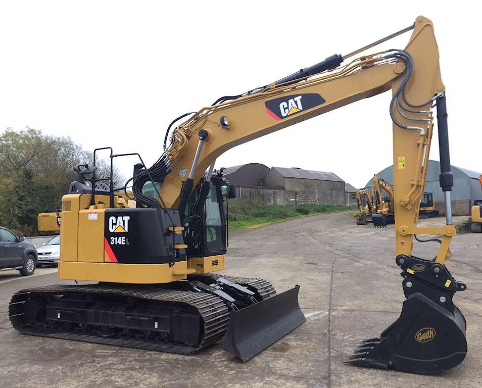 2016 CAT 314EL Hydraulic Excavator For Sale