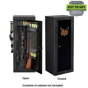Buck Commander Licensed By Stack On Gun Amp Bow Cabinet At