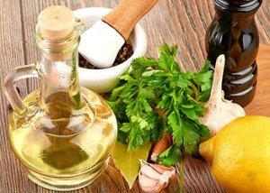 Salsa Verde with Raw Garlic