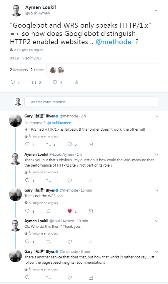 Twitter conversation with Gary Ilyes