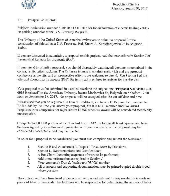 Srb10017r0015 Invitation Letter U S Embassy In Serbia