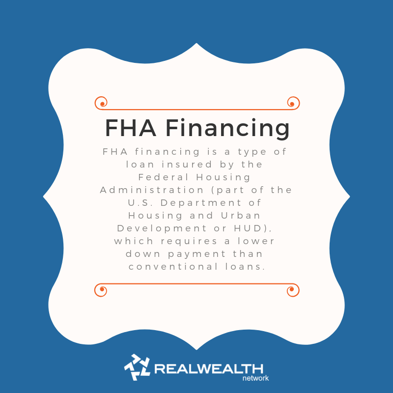 Definition of FHA Financing