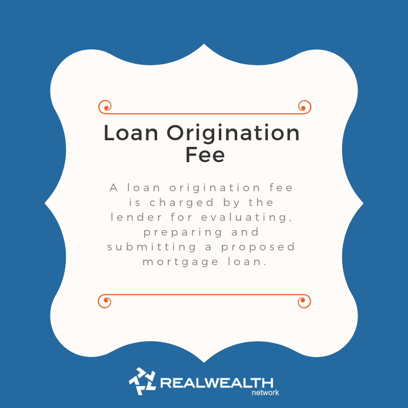 Definition of Loan Origination Fee image