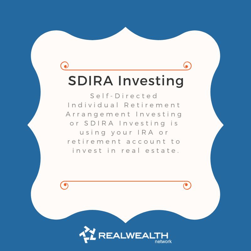 Definition of SDIRA Investing image