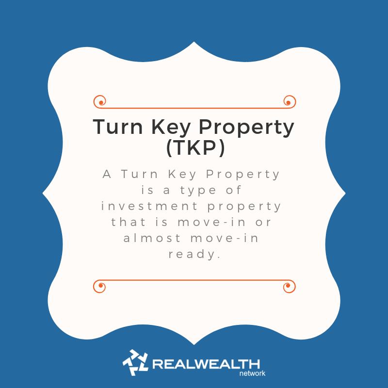 Definition of Turn Key Property image