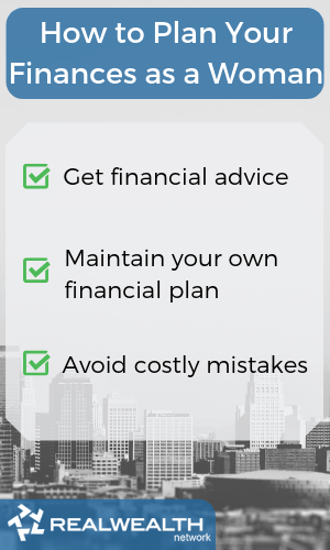 How to plan your finances as a woman