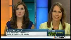 Real Wealth Network - Kathy Fettke on CNBC Reality Check