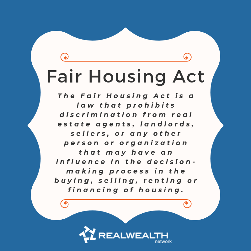 definition of Fair Housing Act