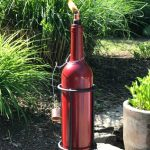 Diy Wine Bottle Tiki Torch Goodstuffathome