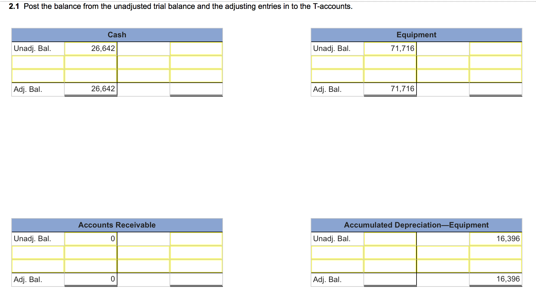 Accounting Journalize Adjusting And Closing Entries