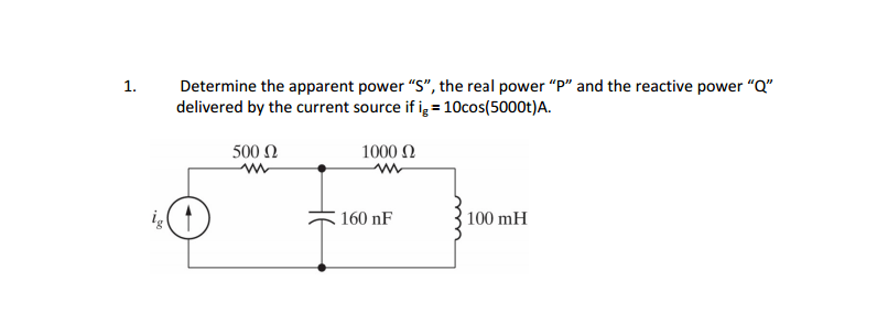 media%2F1d3%2F1d3d6174 c27f 4a45 acf3 0cdc7cad92fe%2FphpNVqJQA - In the circuit the voltage and current expressions arev=72e^-500t V, t > 0;i=9e^-500t mA, t > 0+.Finda)Rb)Cc) tau (in milliseconds)d) the initial energy stored in the capacitore) how many microseconds it takes to dissipate 68% of the initial energy stored in the capacitor.
