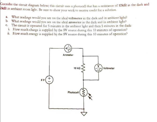 solved consider the circuit diagram below this circuit u