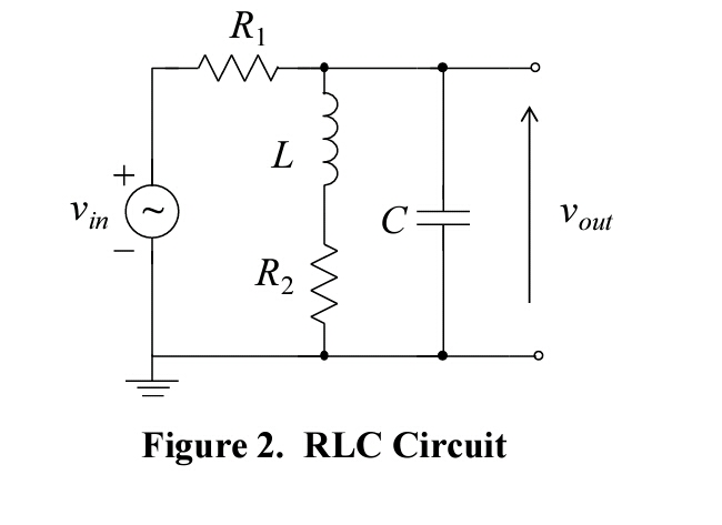 Solved: Derive The Dynamic Equations For The RLC Circuit D