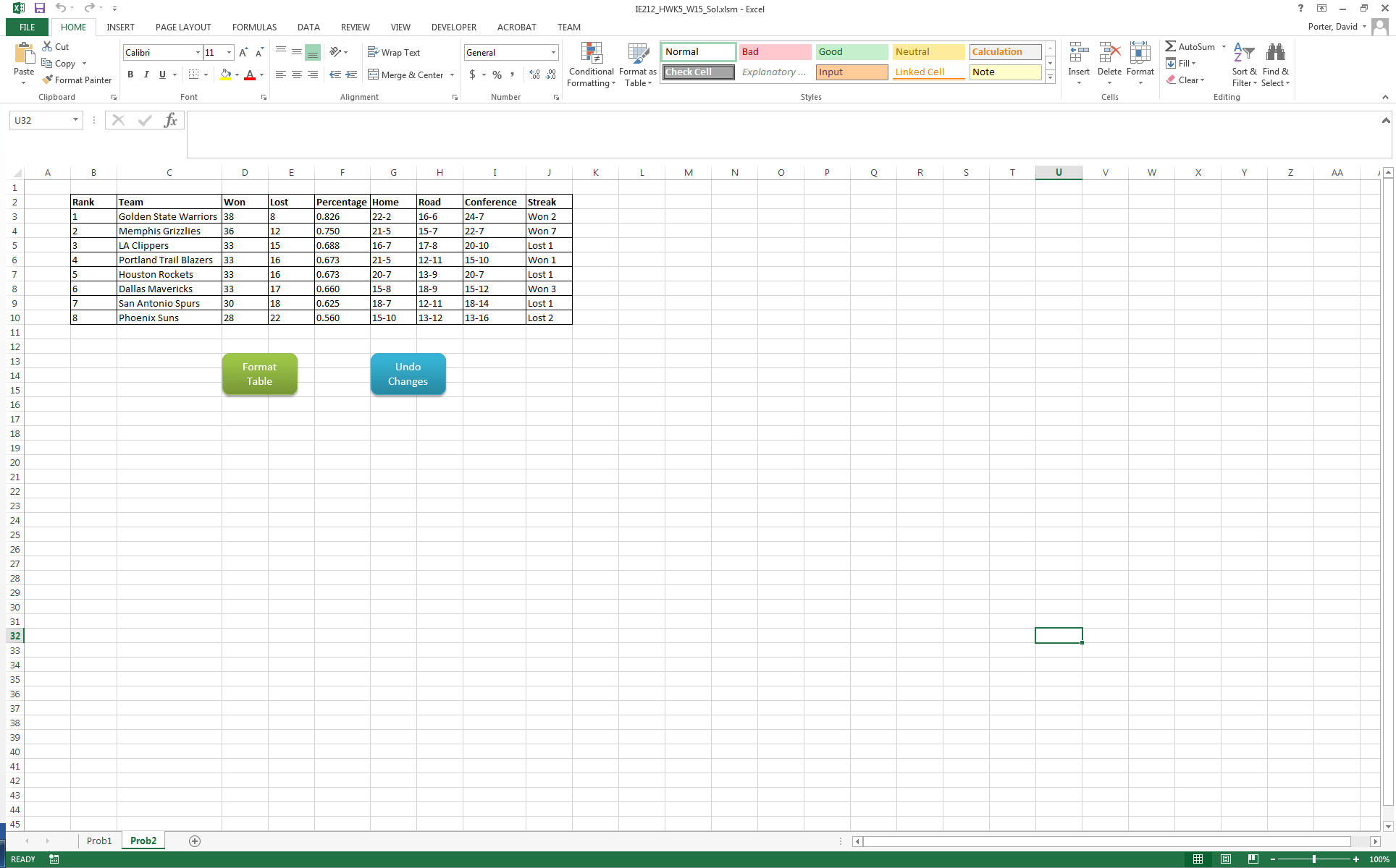 Open A Blank Excel Workbook And Save It As A Macro