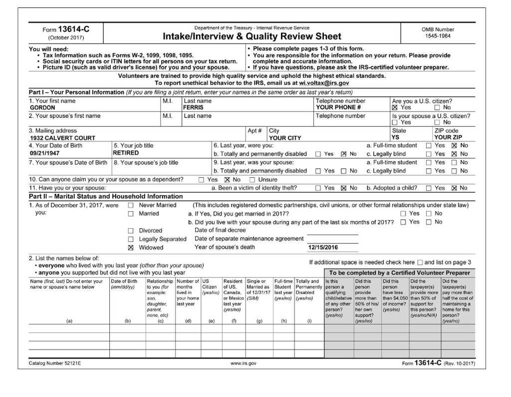Social Security Form Ssa Image Collections