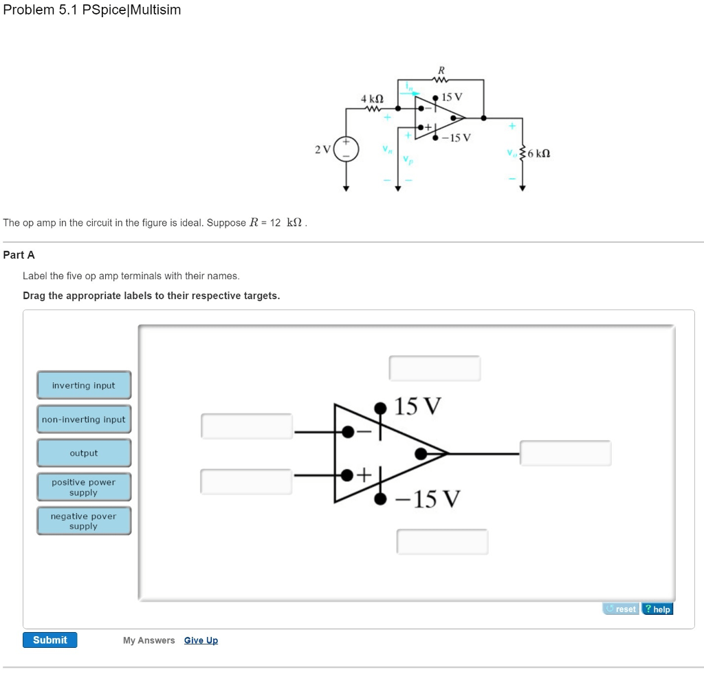 Solved The Op Amp In The Circuit In The Figure Is Ideal S