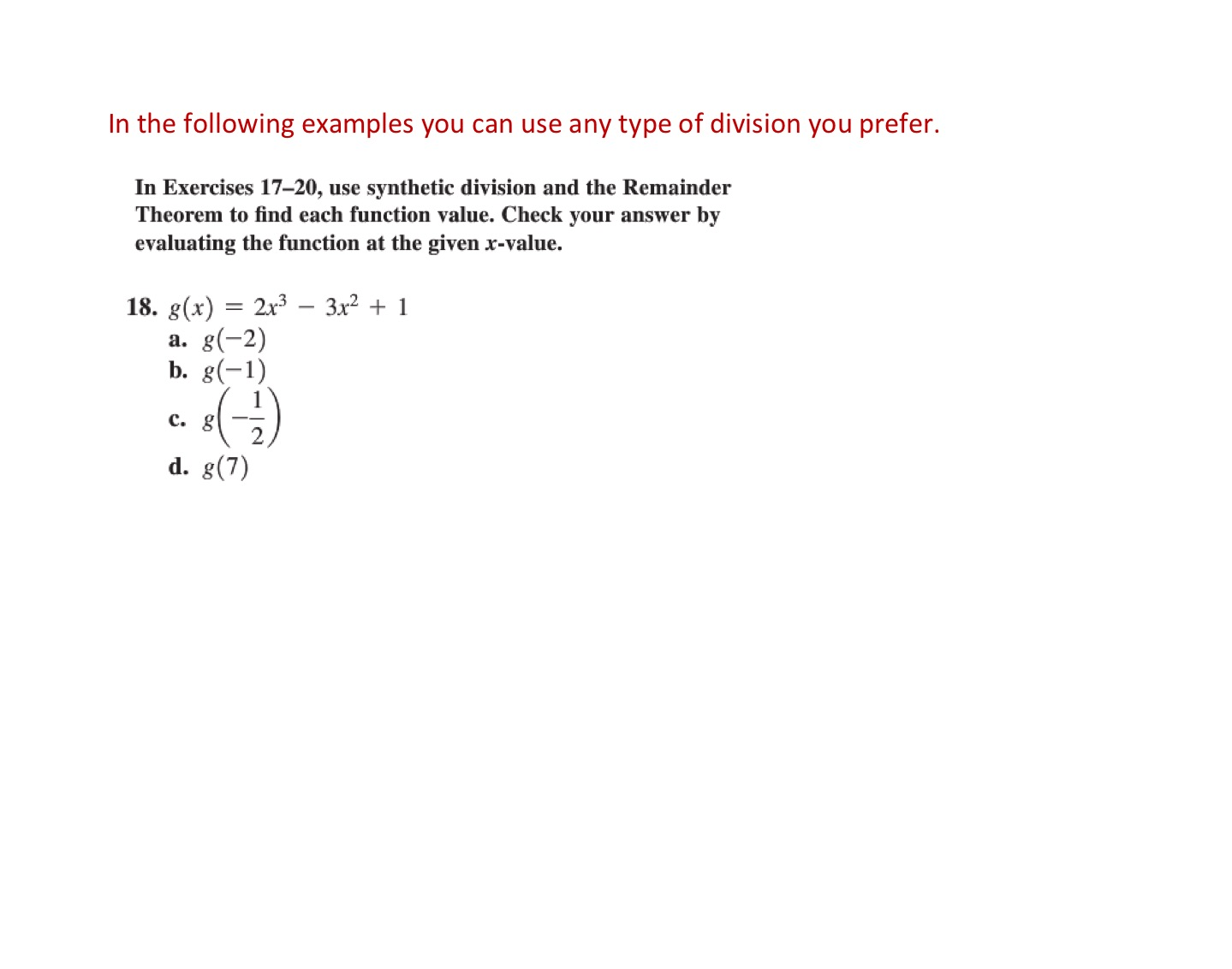 Synthetic Division Worksheet Key