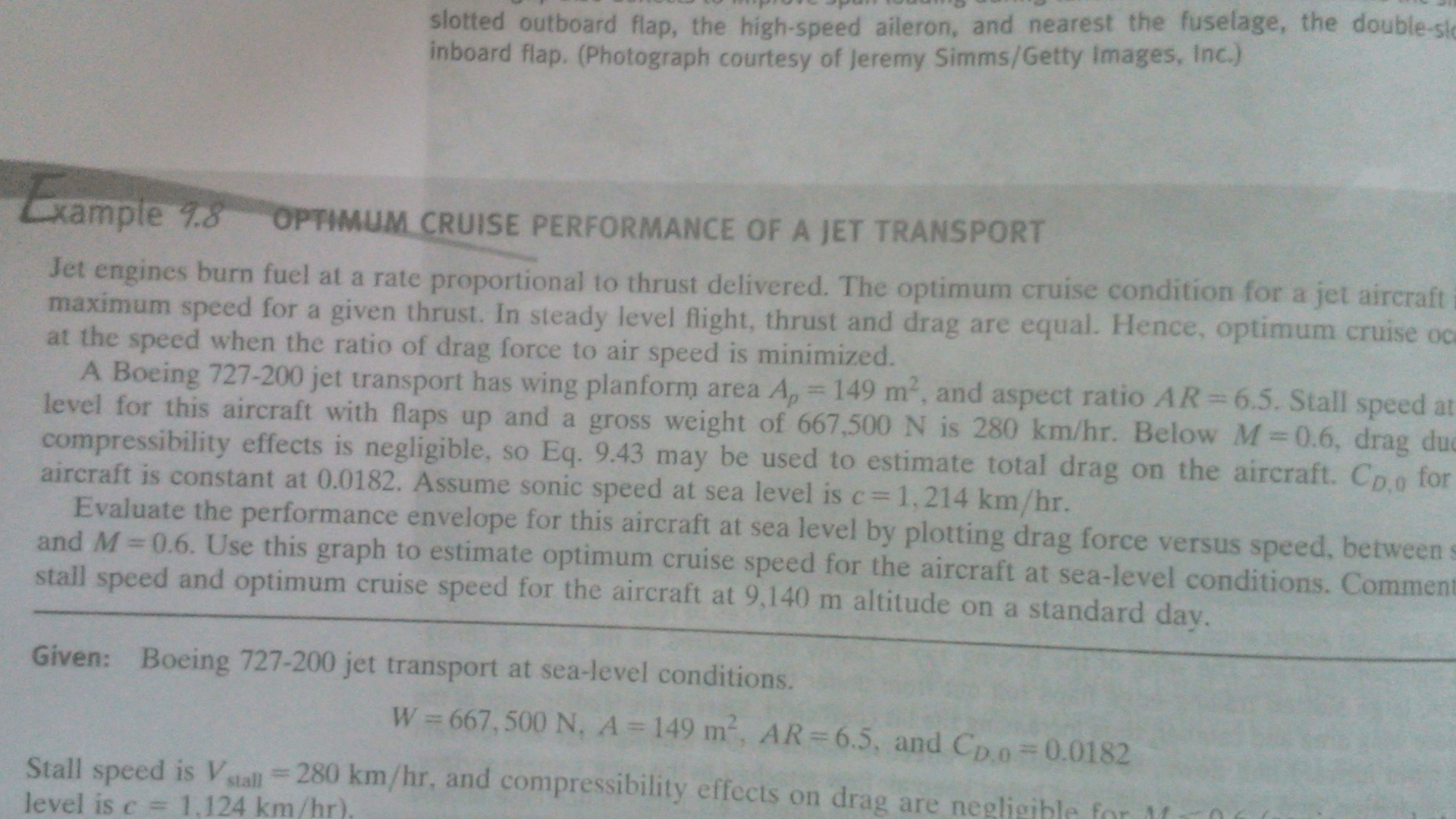 Solved Jet Engines Hum Fuel At A Rate Proportional To Thr