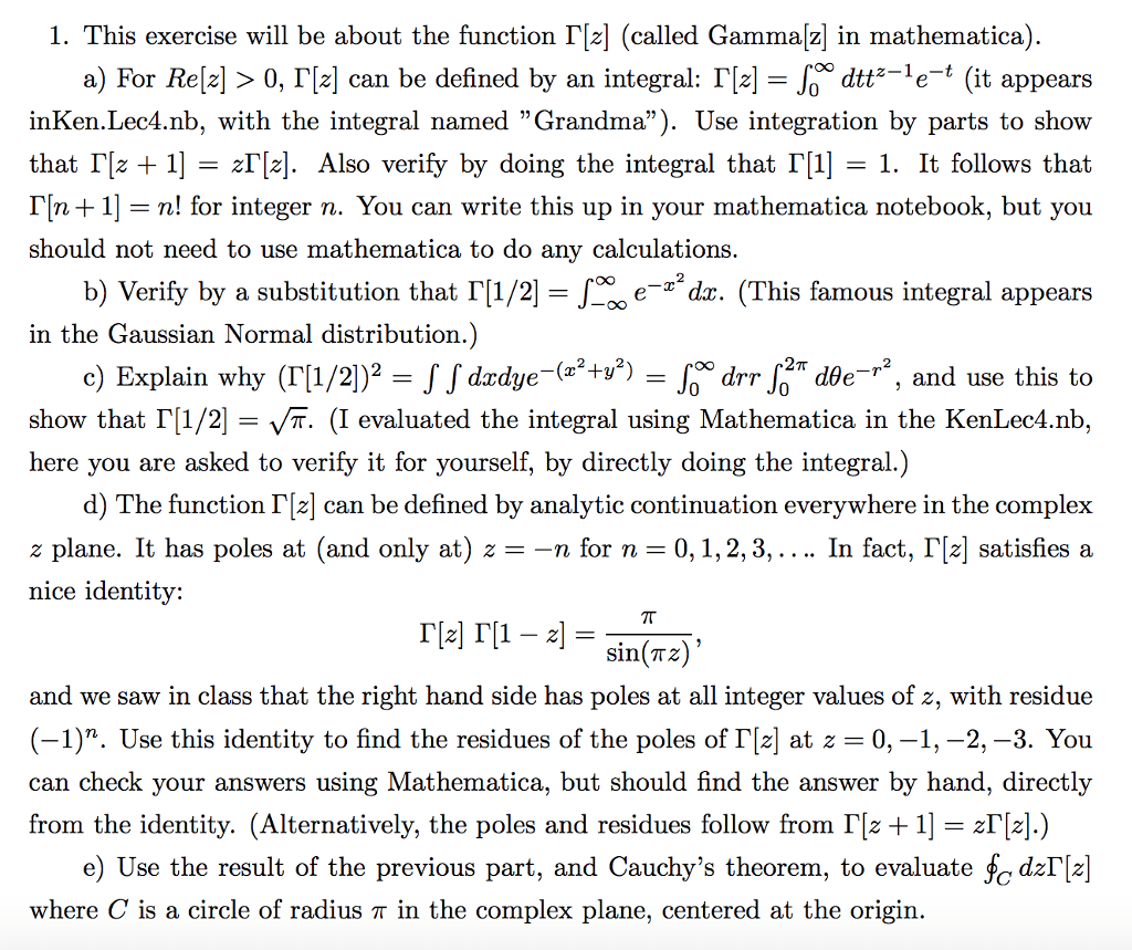 Solved 1 This Exercise Will Be About The Function Cal