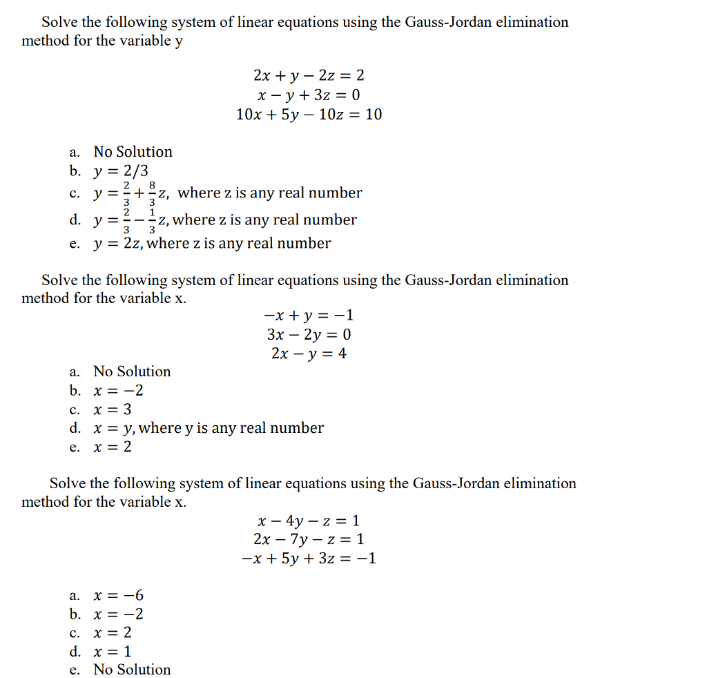 How To Solve An Equation With X And Y Variables
