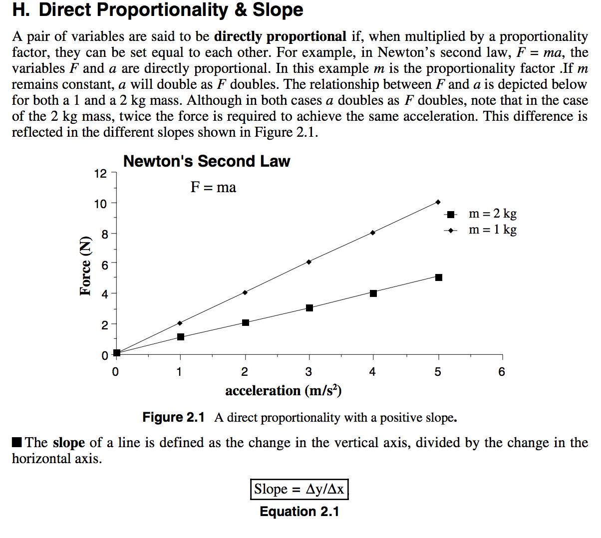 Proportionality Mathematics