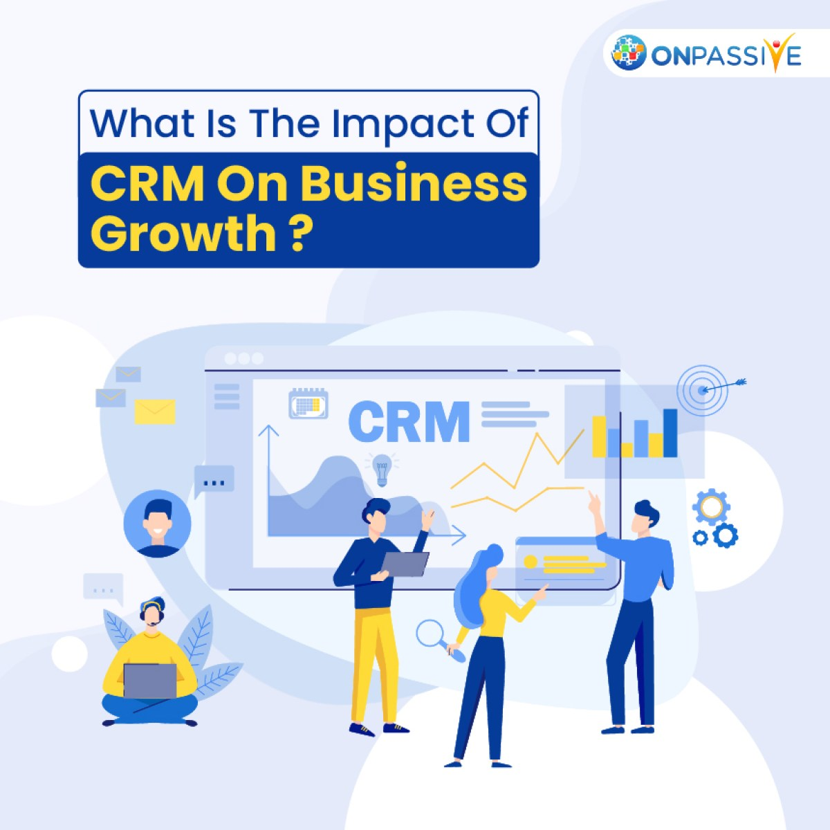 A CRM or customer relationship management is a system that helps businesses enhance and nurture the relationship with existing customers while providing them with the scope to find and build connections with new prospective customers.