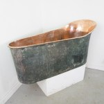 Antique 19th Century French Copper Bath Bathtub La95165 Loveantiques Com