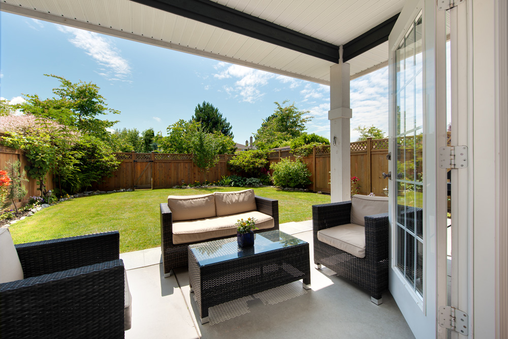 Ways to Save Money on Your Outdoor Living Space ... on Living Spaces Outdoor Sectional id=84584
