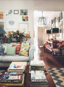 Eclectic Interior Design  The 21st Century Approach To Style eclectic living room