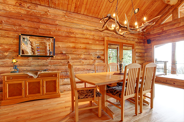 how to decorate your mountain cabin
