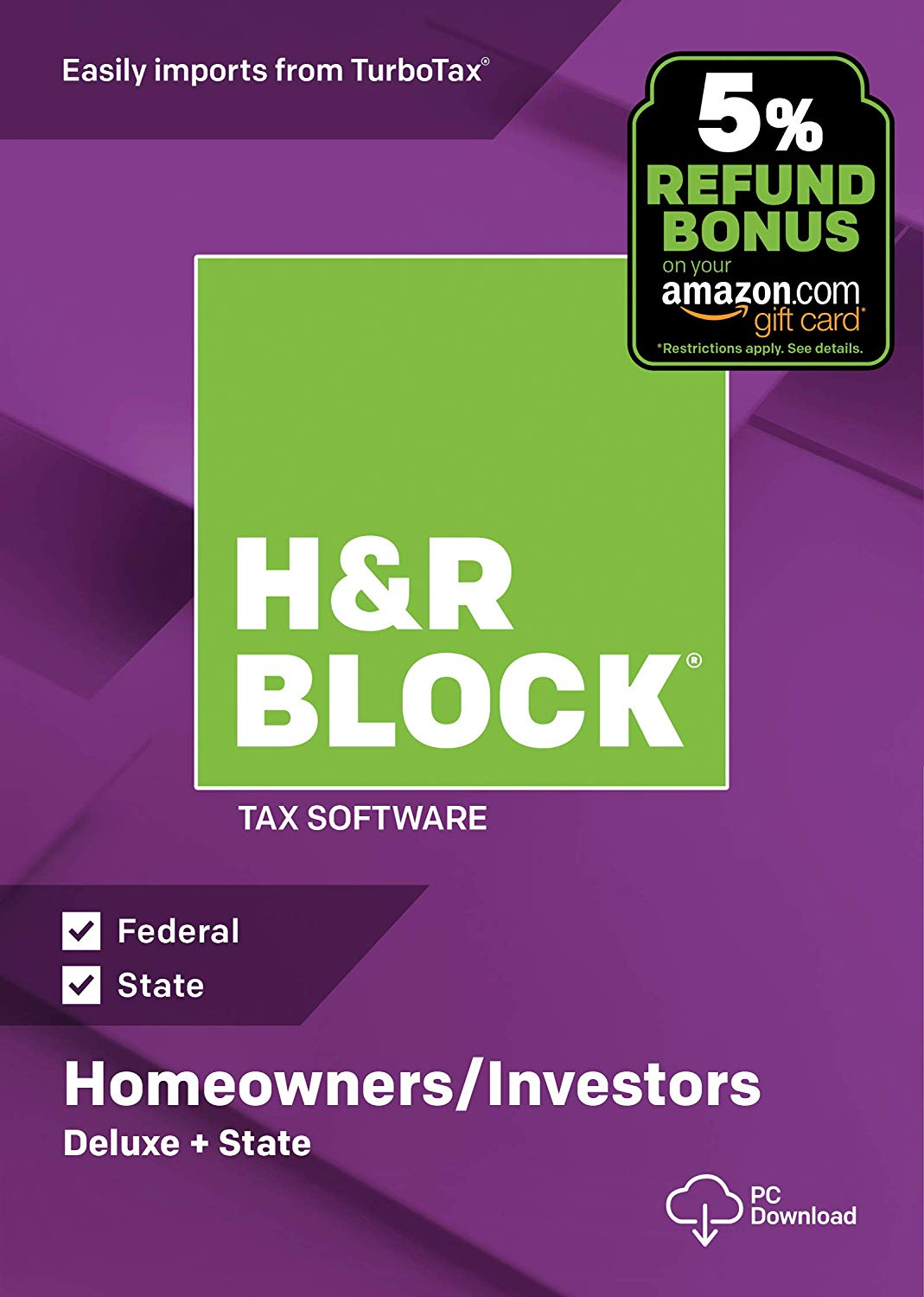 Hr Block Tax Software Deluxe State Deals