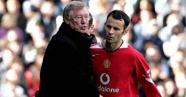 Giggs names four Man Utd players that never got Fergie's hairdryer