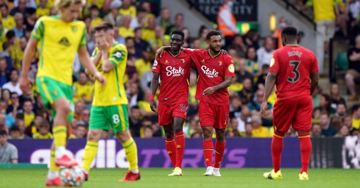 Norwich fell at home in a vital relegation scrap against Watford | Premier League Matchday 6: Predictions