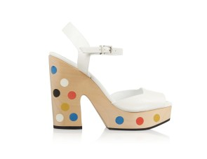 Fendi leather platform sandals, US$1,164.04, available at Net-A-Porter
