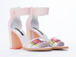Miista 'Lexi' heels in pink, US$269.95, available at