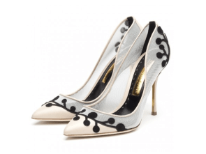 Rupert Sanderson 'Florella' pumps, US$595, available at Rupertsanderson.com