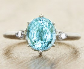 'Erin' engagement ring, from US$2,300, from Ken & Dana Design