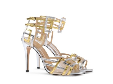 Charlotte Olympia 'Between The Lines' heels, US$606, available at Shoescribe
