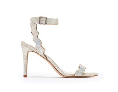 Loeffler Randall 'Amelia' holographic heels, US$295, available at Loeffler Randall
