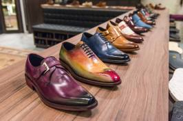 Diamond Walker offers a huge range of styles, including these colourful ones for bolder grooms