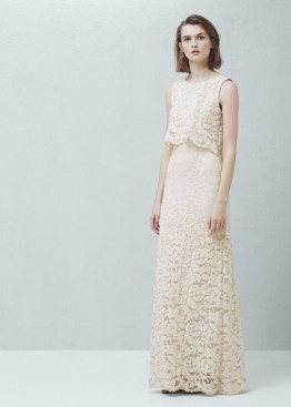 Mango Guipure Gown $269