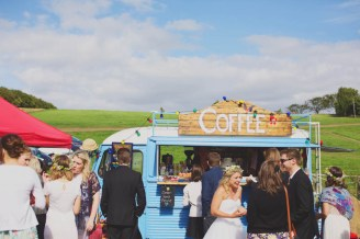 Get a food truck service or rent out a kombi truck for festival vibes. Photo: Cameron Hannah