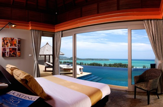 Honeymoon resort in Phuket, Thailand: The Pavilions